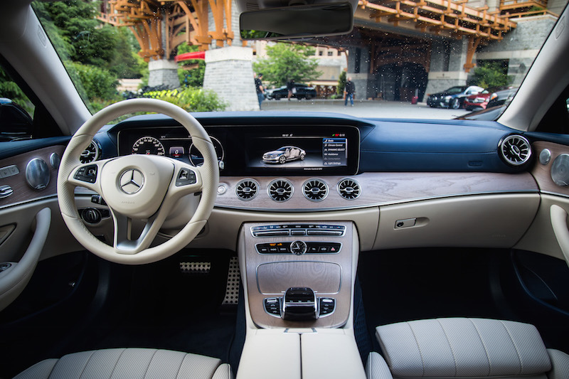 2018 Mercedes-Benz E 400 4MATIC Coupe interior