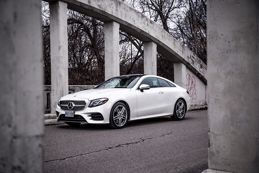 E 400 Coupe canada review new used