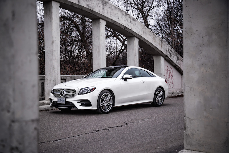 2018 Mercedes-Benz E-Class Coupe diamond white paint colour