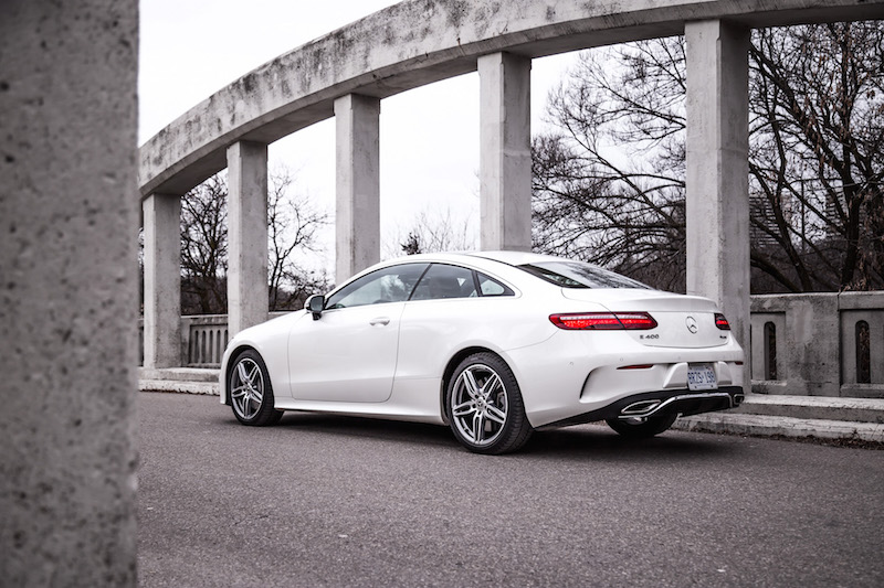 2018 Mercedes-Benz E-Class Coupe rear
