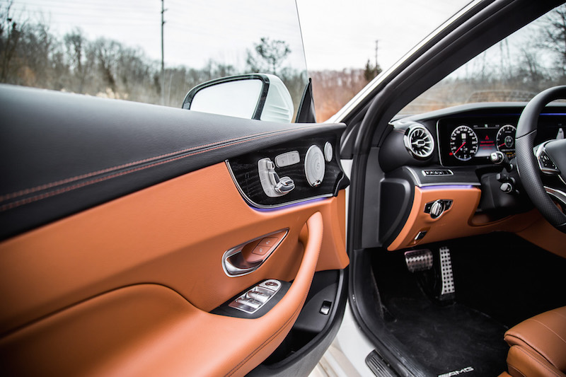 2018 Mercedes-Benz E-Class Coupe door panel seat controls