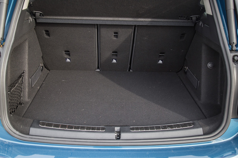 2018 MINI Countryman ALL4 trunk space