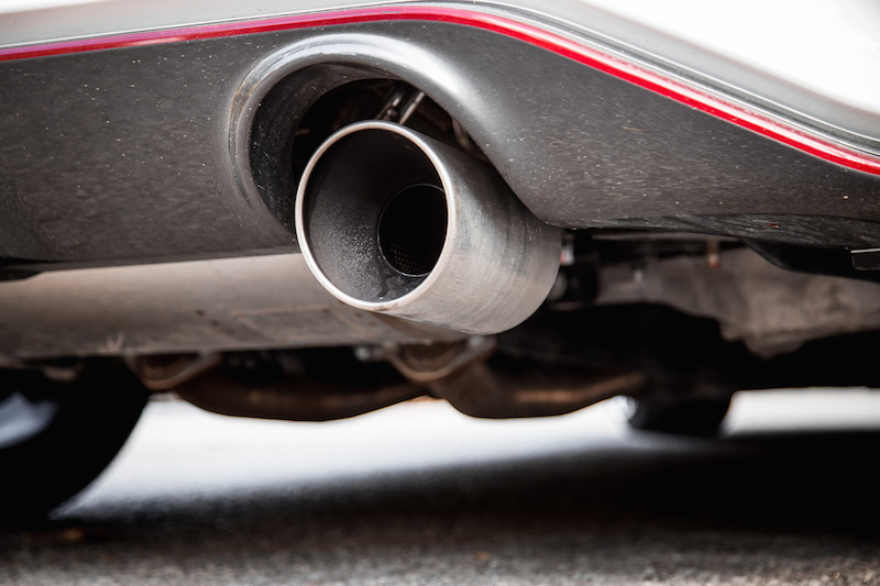 2018 Nissan 370Z NISMO chrome exhaust tips