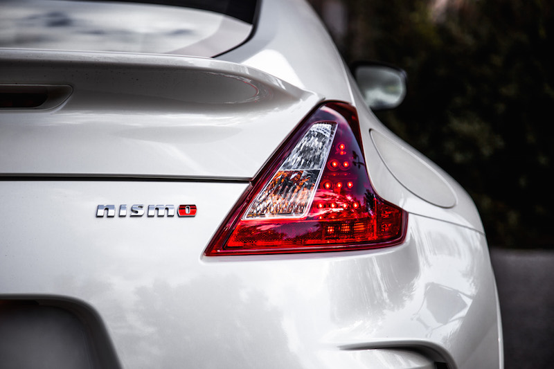 2018 Nissan 370Z NISMO red tail lights