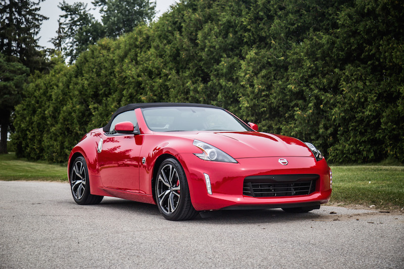 2018 Nissan 370Z Roadster Touring Sport top up black top