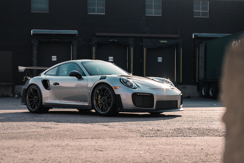 2018 Porsche 911 GT2 RS gt silver paint colour