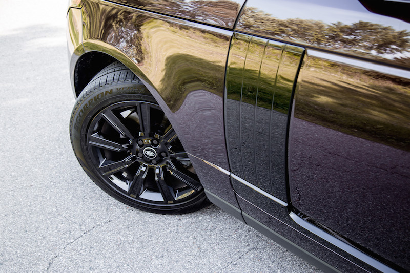 2018 Range Rover black package wheels