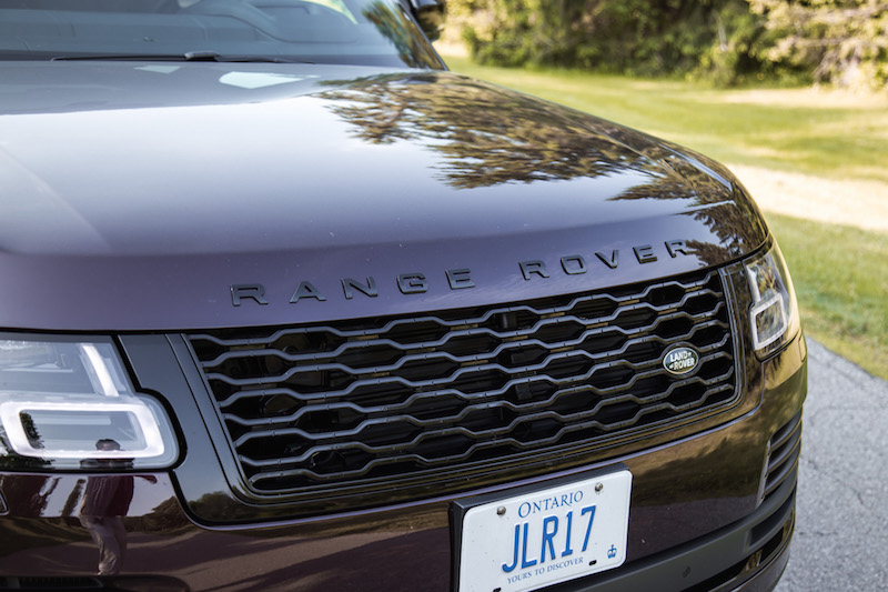 2018 Range Rover black package front grill