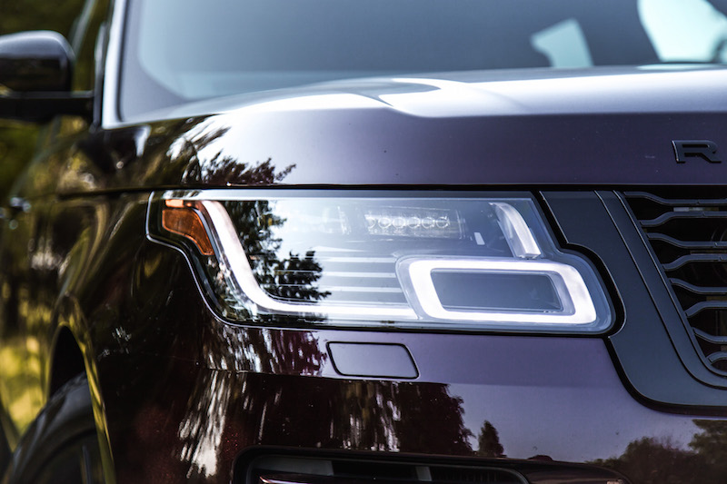 2018 Range Rover new led headlights