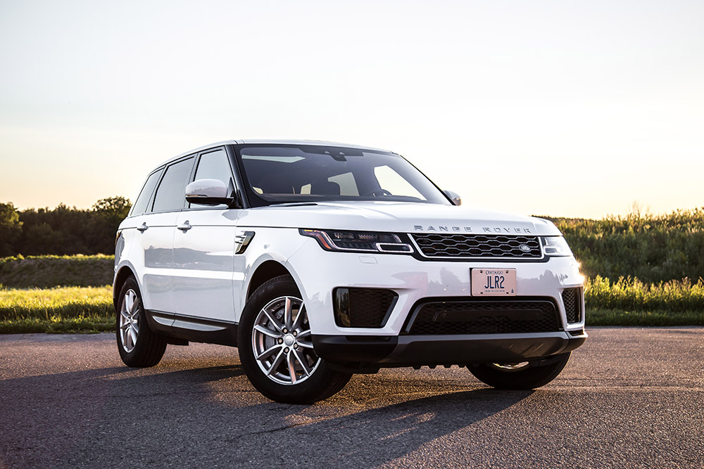 2018 Range Rover Sport SE canada review base model