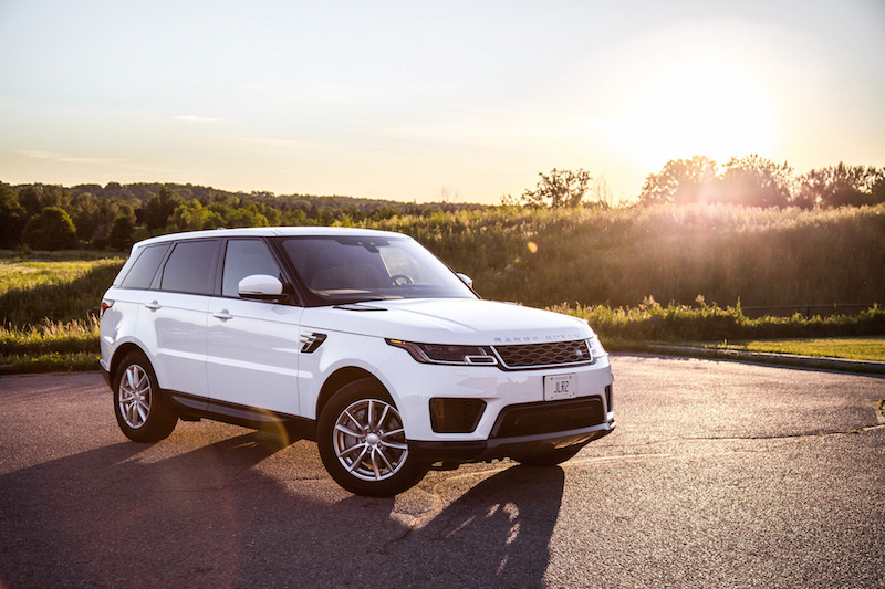 2018 Range Rover Sport SE new look outer
