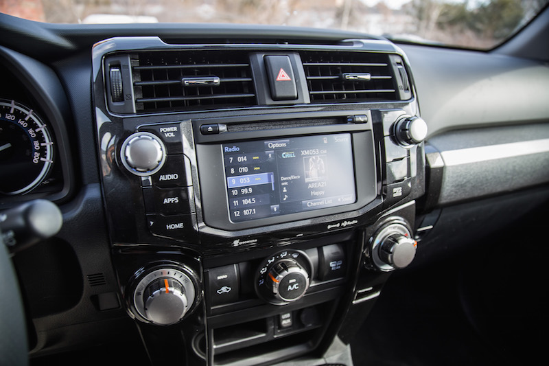2018 Toyota 4Runner TRD Pro infotainment display