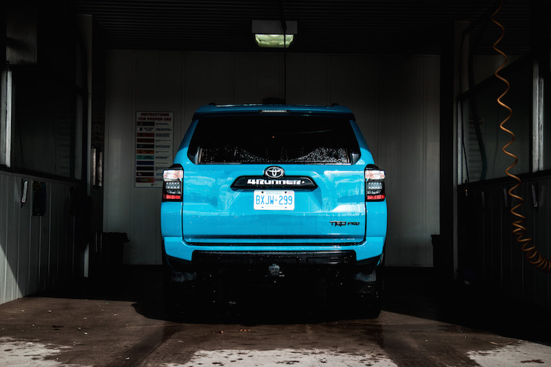 2018 Toyota 4Runner TRD Pro rear view