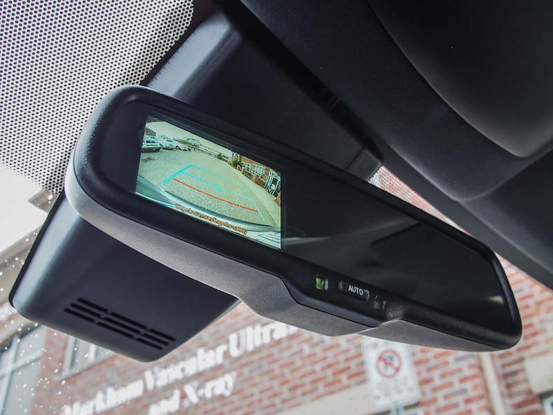 2018 Toyota C-HR rear view camera mirror