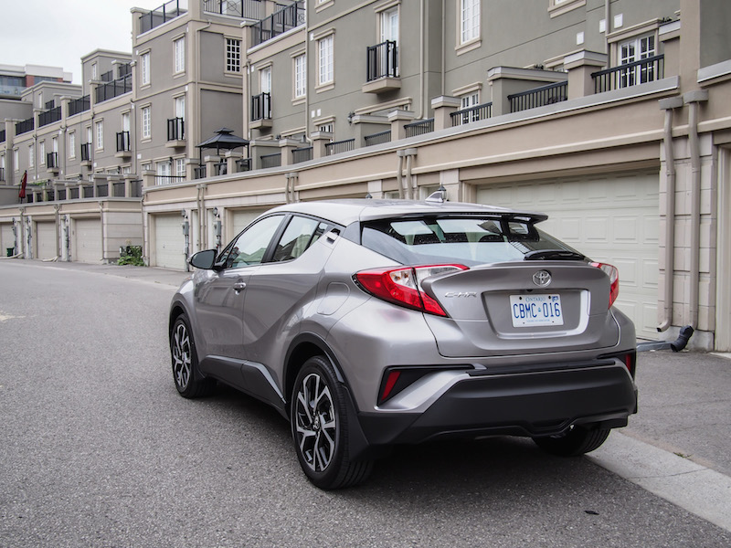 2018 Toyota C-HR rear quarter view