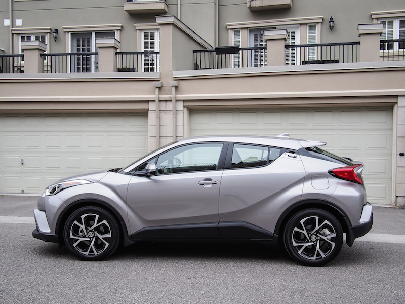 2018 Toyota C-HR side view