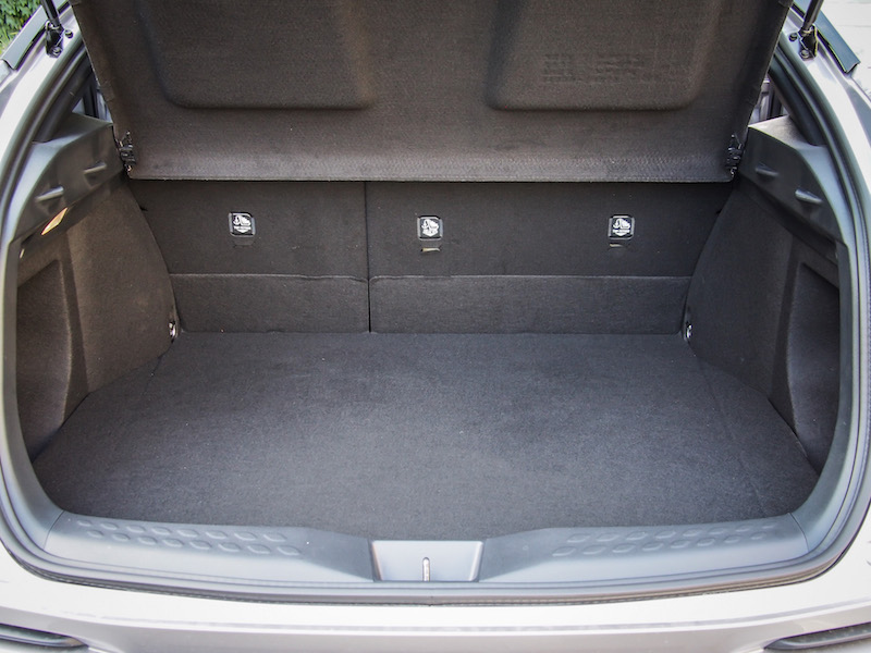 2018 Toyota C-HR trunk space cargo