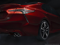 2018 Toyota Camry y shaped lexus tail rear lights