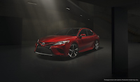 2018 Toyota Camry new design spindle grill