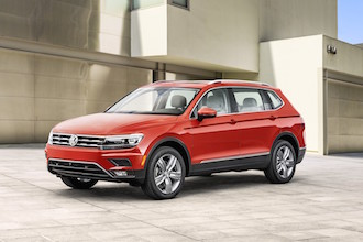 2018 Volkswagen Tiguan red paint
