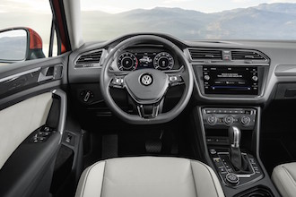 2018 Volkswagen Tiguan new steering wheel digital cockpit display