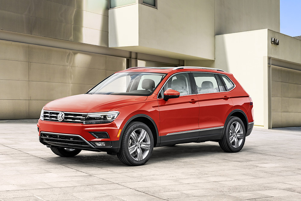 2018 Volkswagen Tiguan canada first look
