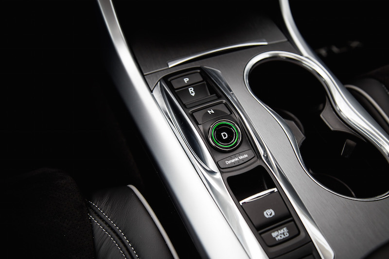 2019 Acura TLX A-Spec gear button shifter