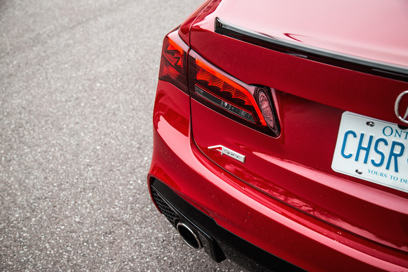 2019 Acura TLX A-Spec rear lights