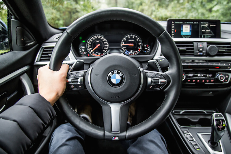 2019 BMW 430i xDrive Gran Coupe new steering wheel