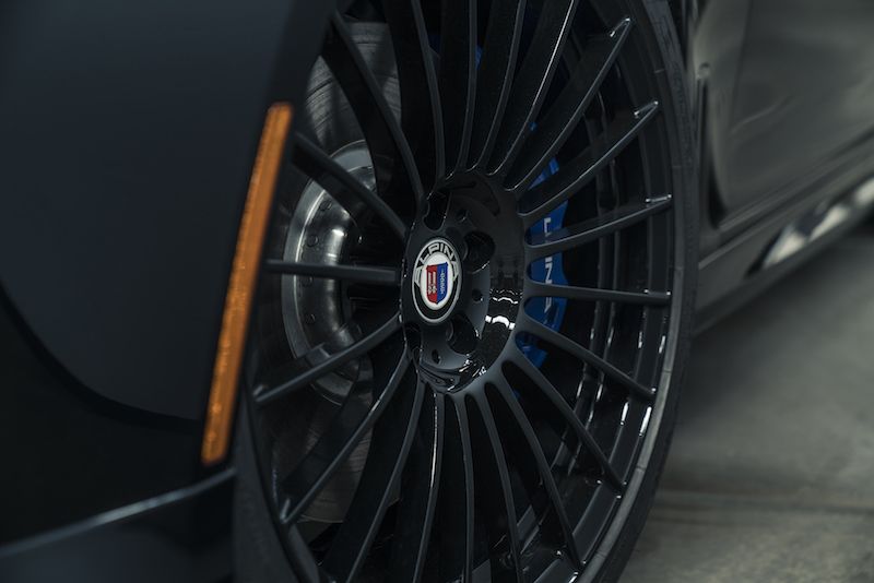 2019 BMW Alpina B7 blacked out wheels