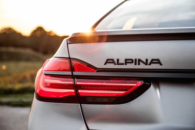 2019 BMW Alpina B7 badge
