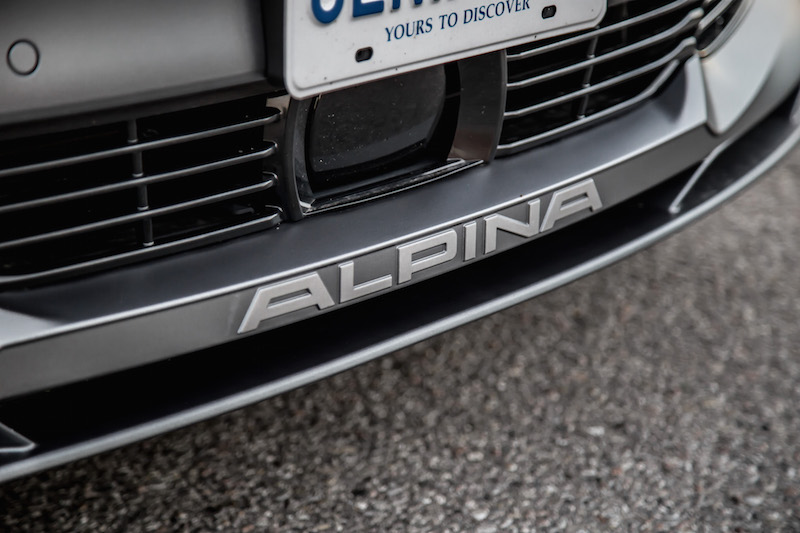 2019 BMW Alpina B7 front splitter