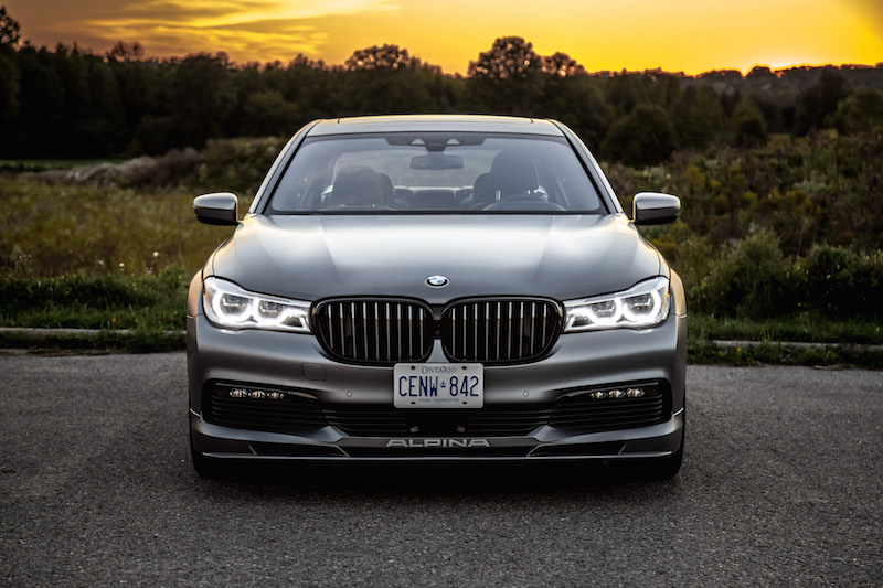 2019 BMW Alpina B7 front view