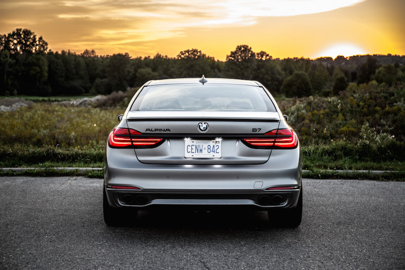 2019 BMW Alpina B7 rear view