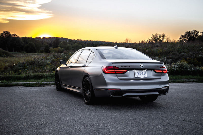 2019 BMW Alpina B7 frozen grey 1 of 7