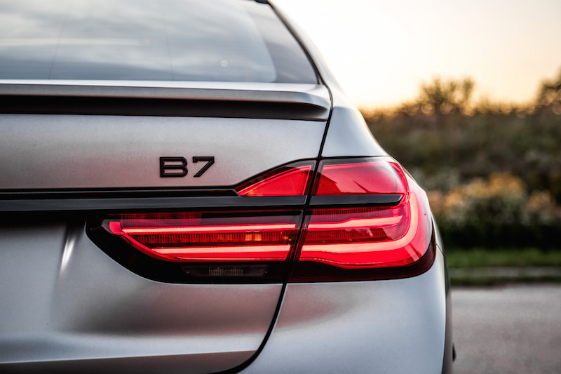 2019 BMW Alpina B7 taillights