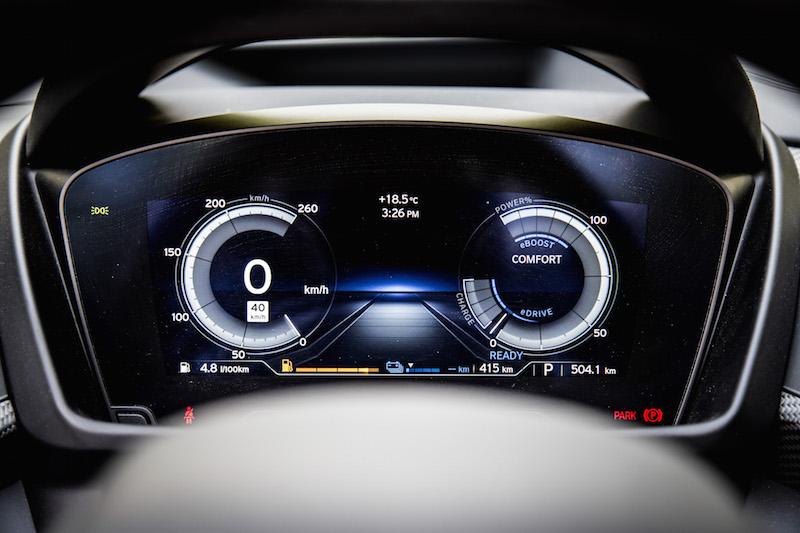 2019 BMW i8 Roadster gauges