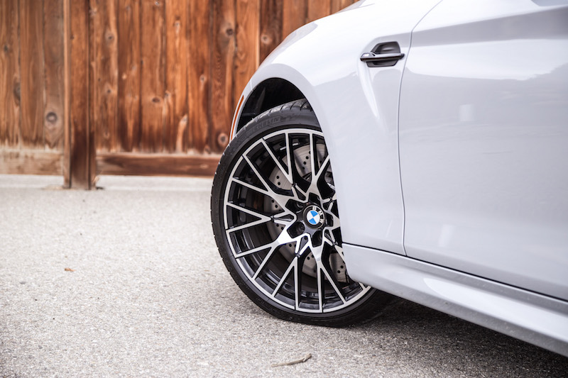 2019 BMW M2 Competition wheels