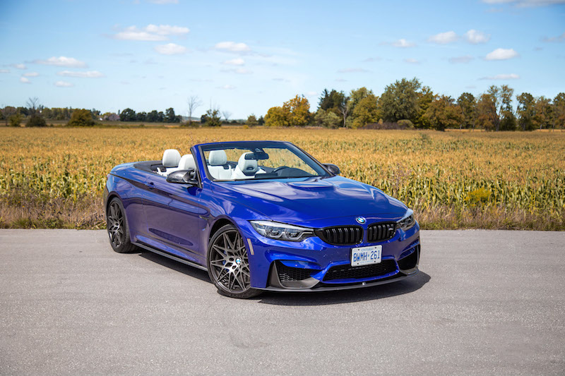 2020 BMW M4 Competition Cabriolet blue