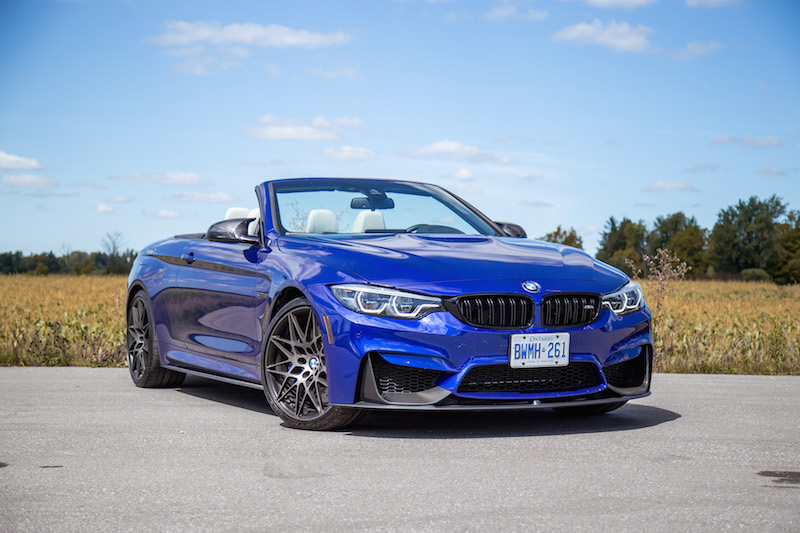 2020 BMW M4 Competition Cabriolet ultimate package