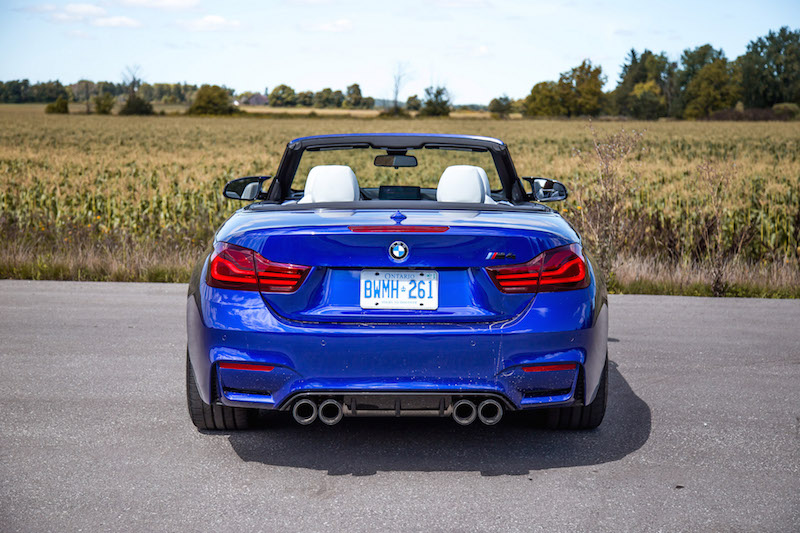 2020 BMW M4 Competition Cabriolet rear
