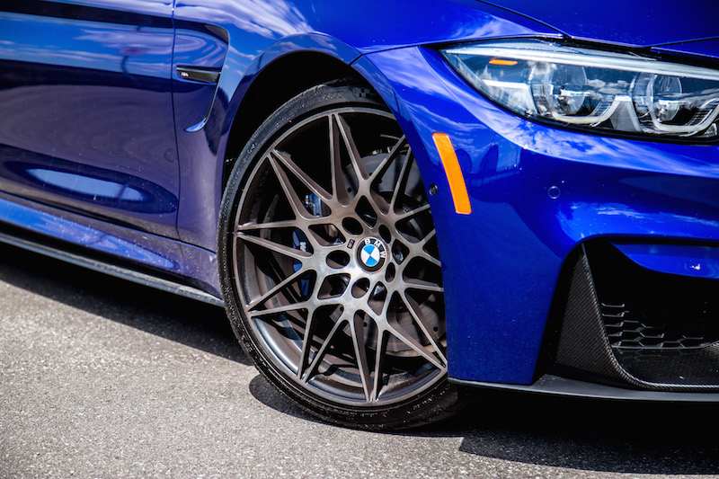 2020 BMW M4 Competition Cabriolet michelin pss