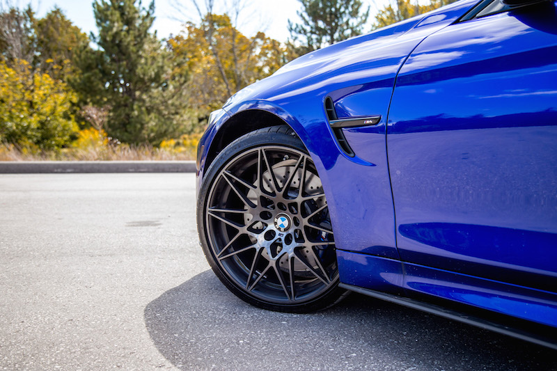 2020 BMW M4 Competition Cabriolet wheels 20-inch