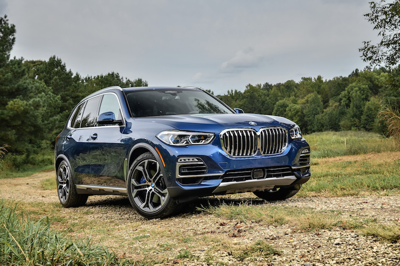 2019 BMW X5 xDrive40i air suspension low