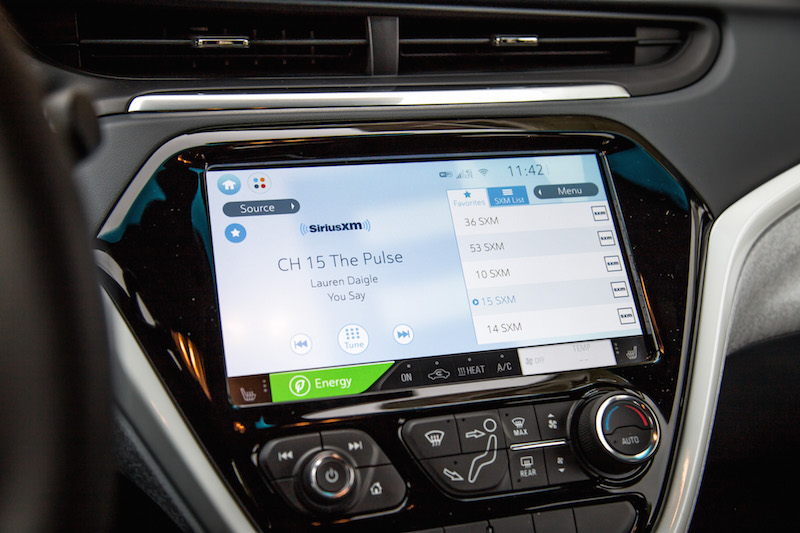 2019 Chevrolet Bolt radio station favourites only 5 five