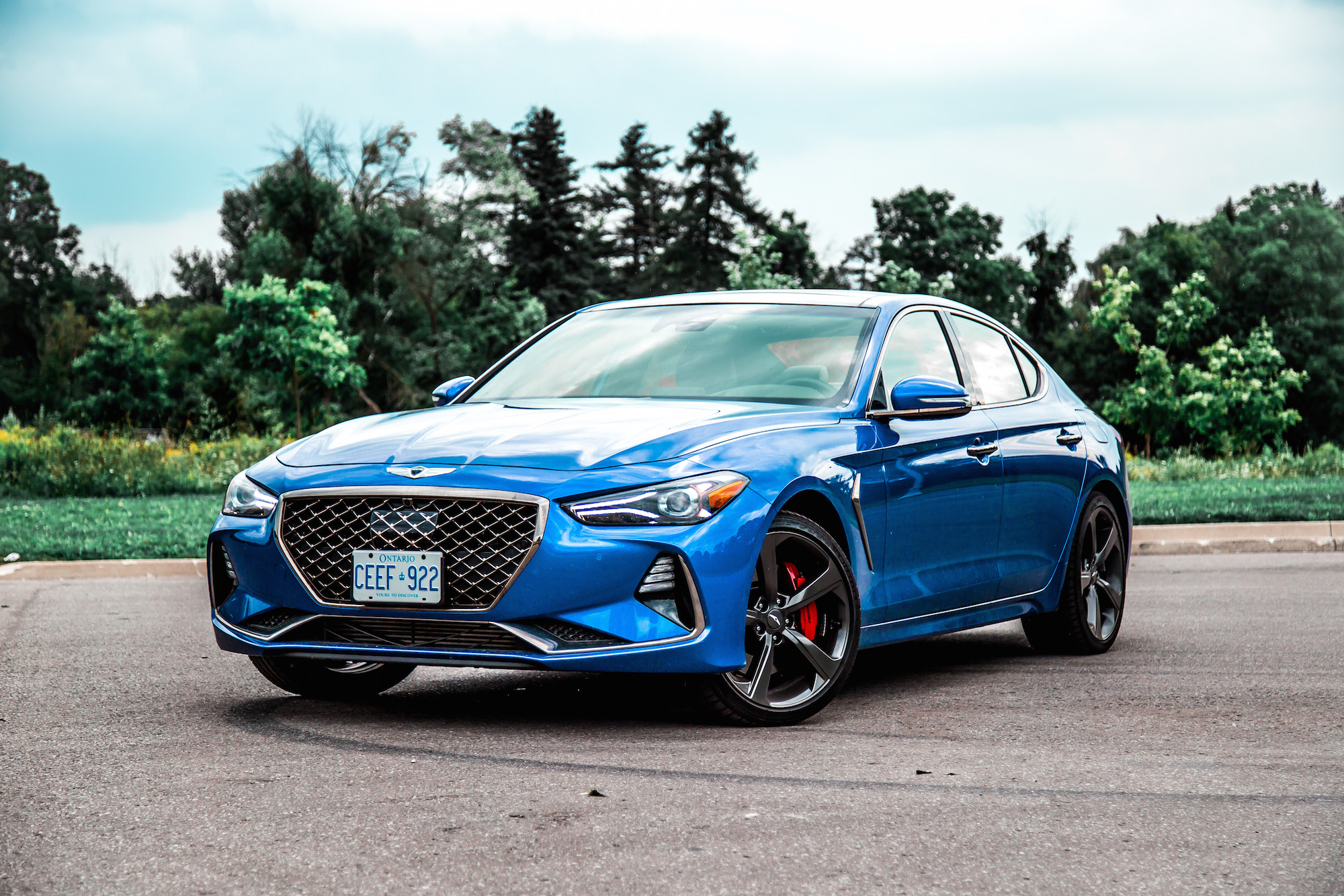 Review 2019 Genesis G70 3 3t Sport Awd Car