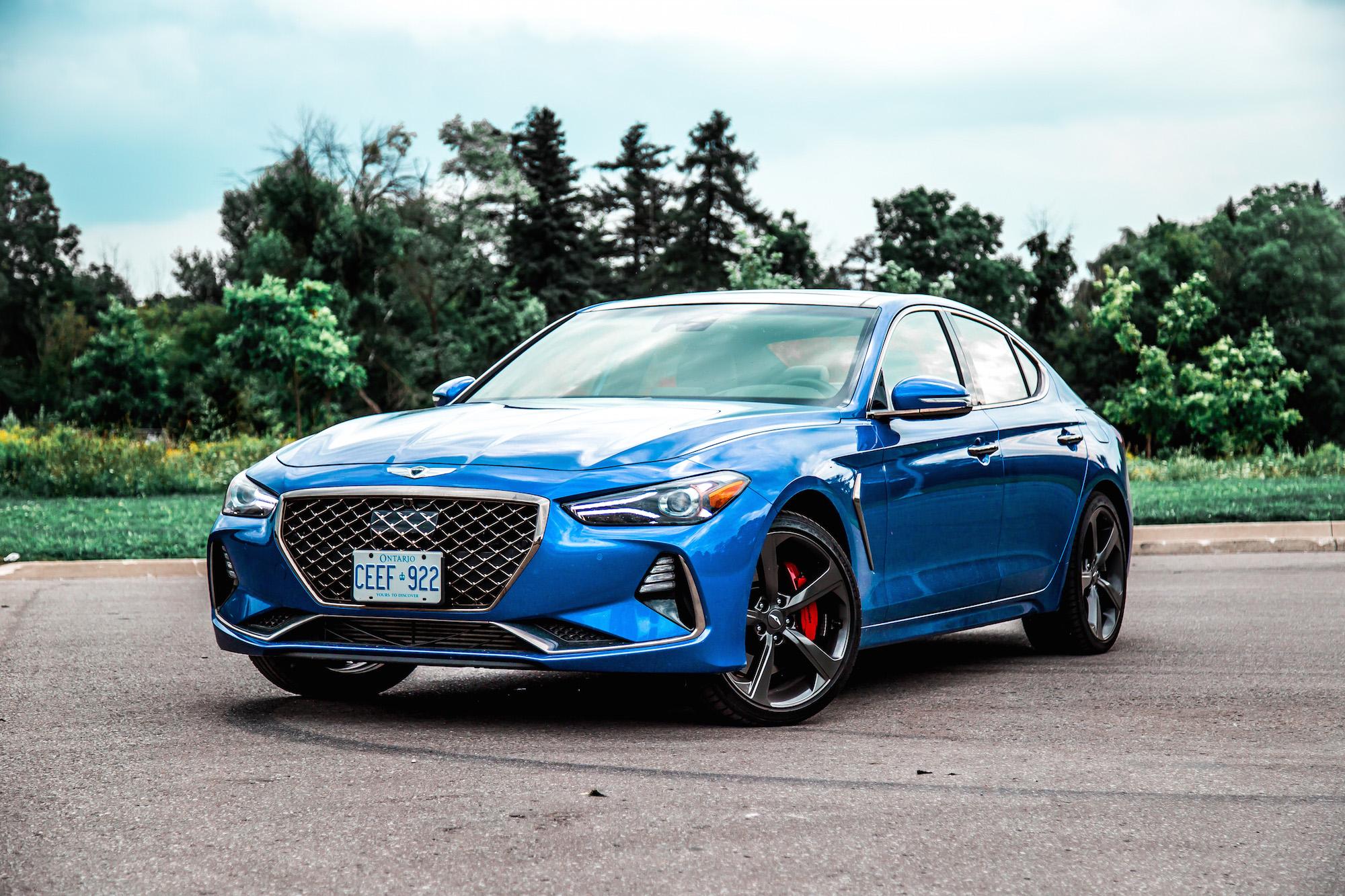 Review 2019 Genesis G70 3 3t Sport Awd Car