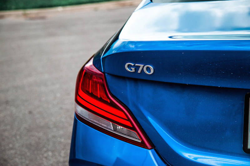 2019 Genesis G70 3.3t Sport AWD badge