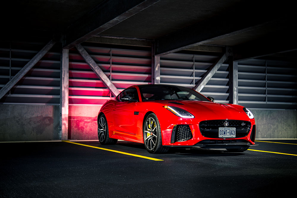 2019 Jaguar F-Type SVR canada review