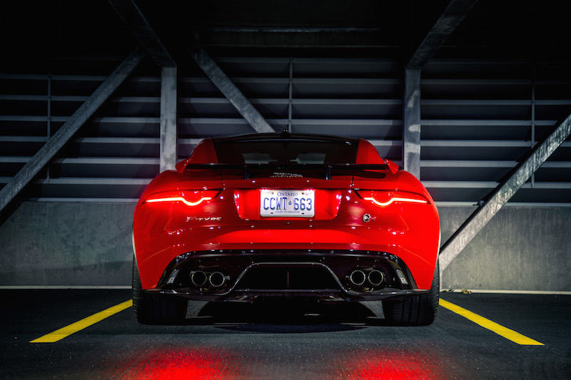 2019 Jaguar F-Type SVR carbon fibre package
